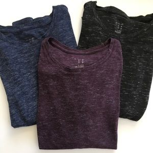 A New Day Long Sleeve T Shirt Bundle of 3- Size XL